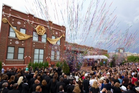Scientologists, neighbors, and state and city dignitaries assembled in Lower Downtown for the grand opening of the Denver Church of Scientology Ideal Org. The Church's new home stands at 2300 Blake Street in the Historic Ballpark Neighborhood, one block from Coors Field.